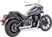 Vance And Hines 18397 Exhaust Chr Ts Stagvulcan