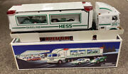 1997 - Hess Toy Truck And Racers New In Box