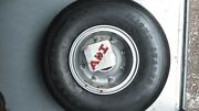 Wheel Nose F-28 Folker Aircraft Braking System 9543705-1 With Tire Overhauled