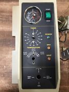 Tuttnauer 2540m Front Panel Mpv Temp Control And Gauges