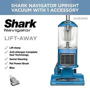 New - Shark Navigator Lift-away Upright Hepa Filter Carpet And Hard Vacuum Cleaner