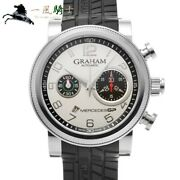 Graham Silverstone Mercedes Gp Trackmaster 2meas.s01a Stainless Steel Auto