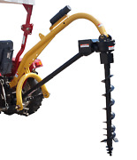 Tool Tuff Pole-star 1000 Cat 1 Post Hole Digger W Earth Auger Combos 6-12 Diam