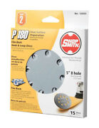 Shopsmith 12055 180 Grit Aluminum Oxide Hook And Loop Sanding Disc 5 Dia. In.