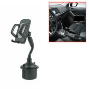 1x Universal Car Mount Adjustable Cup Holder Cradle For Cell Phone Accessories