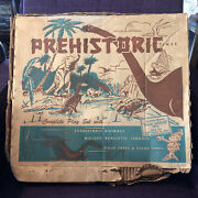 Marx Toys Prehistoric Times Play Set - 3388 Number With Instructions Pamphlet