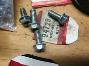 Lot Of 4 Briggs And Stratton Antique Engine Part 94729 Screw