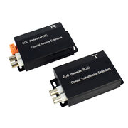 Ethernet And Power Over Coax Adapter Converter For Poe Ipc Power Signal 2500ft