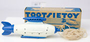 Original Toy And Box 1930s Tootsietoy Buck Rogers No.1032 Destroyer Rocket 2