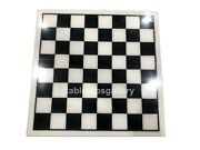 3and039x3and039 White Marble Square Side Dining Chess Table Tops Hallway Decorative H027b