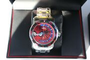 Marvel Spiderman Diver Stainless Limited Ed Numbered 635/4000 Watch