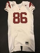 Anthony Mccoy Game Used Usc Trojans Jersey Game Worn Jersey Rose Bowl