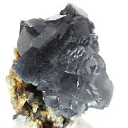 Fluorite With Bismuthinite, Rare, Natural, Specimen, Display, Mineral, R-1757