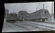 Original Msc Montreal And Southern Counties Railways Trolley Canada Photo Negative