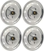 Jssft1605 Ford Transit 150 250 350 Stainless Steel 16 Inch Hubcaps/wheelcovers