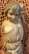 Lladro 4800 Gypsy With Brother Damaged No Box Great Gift L@@k