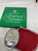 Towle 1979 - Sterling Silver Christmas Melodies Ornament - Deck The Halls - Box
