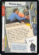 X-files Combat Watch Out Ccg Individual Card Nxt Games