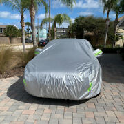For Ford Mustang Gt 6-layer Full Car Cover Indoor Outdoor Waterproof All Weather