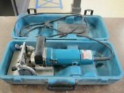 Makita 3901 Biscuit Plate Joiner Cutter Rail Circular Saw In Case Discontinued