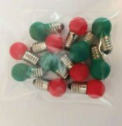 Lionel/american Flyer Group Of 18v Replacement Bulbs For Trains And Accessories