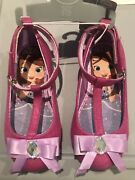 Disney Store Sofia The First Costume Shoes Size 9