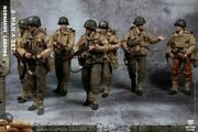 8pcs Cftoys 1/12 Lty001 Wwii U.s. Army Deluxe Ver. 6 Action Figure Toy Gift