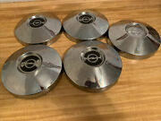 5 Vintage Classic Antique Buick Opel Dog Dish Hubcaps Wheel Covers Center Caps