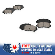 For Ford Crown Vic Lincoln Town Car Grand Marquis Front + Rear Ceramic Brakes