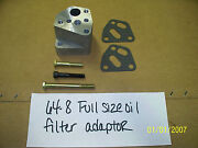 1964 -1968 Pontiac Full Size Oil Filter Adapter -classic Repro