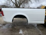 09-18 Dodge Truck 8' Bed Rust Free Ram Long Box And Tailgate 1500/2500/3500 White