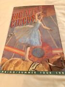 """Big Apple Circus Program 1991 Rare, Color Advertisement, 4 2-sided Pages, 17"""""""