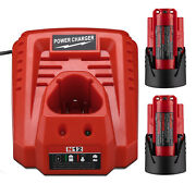 Upgraded 18v 3.7ah Ni-cd Battery For Porter Cable 18v Pc18b + Pcxmvc Charger