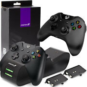 Xbox Controller Dual Charger Charging Stand Dock X Box One S Series X Black New