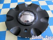Giovanna Wheels [92] Painted Black Used Center Cap 329l205 Qty. 1