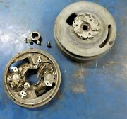 Vintage Gail Sea King 5 Hp Outboard Motor Flywheel Stator Plate Points And Cam