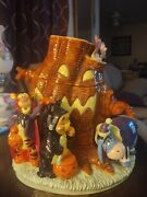 Winnie The Pooh Halloween Cookie Jar Has A Few Very Small Chips See Pics.
