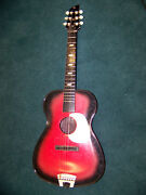 1968 Sears Classic Toy Folk Guitar Toy Vintage Guitar That Is About 52 Years Old