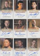 Spartacus Gods Of The Arena Auto / Autograph Card Selection