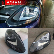 Facelift Led Headlights Headlamps Assembly For Porsche Cayenne 958 2015 - 2018