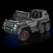 Supertrax® Licensed Mercedes Benz® G63 6x6, 6wd Battery Powered Ride On - Black