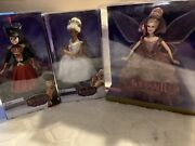 The Nutcracker And The Four Realms Barbie Doll Lot Set New Nrfb.
