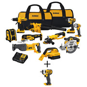 20-volt Max Lithium-ion Cordless Combo Kit 10-tool With 20v Cordless 3/8 In. I