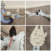 Hot Wheels Star Wars Auto Cars Racing Track Set Lot Birthday Easter Gift