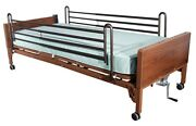 Drive Medical Delta Ul 1000 Full-electric Low Bed W/asst Medical Equip Extras