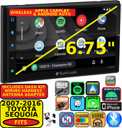 Fits 07-16 Tundra-sequoia Wireless Apple Carplay Android Auto Navigation Stereo