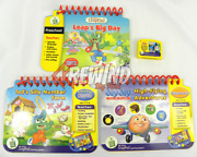 My First Leap Pad Book And Cartridge Lot For Leap Frog Learning System Preschool