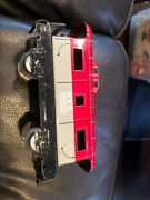Vintage Marx Toys Tin Lithograph Toy Train Car Nyc 20102 Caboose Nice