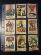 Vintage - 1936 Buck Rogers In 25th Century - Card Game Cards