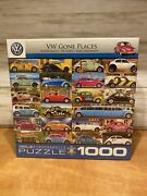 Eurographics Vw Gone Places Jigsaw Puzzle 1000 Piece Nib New In Box Sealed